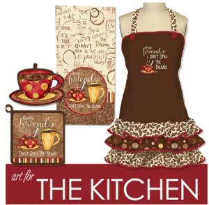 Coffee Kitchen Products - © Tara Reed Designs