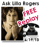 Lilla Rogers free audio replay about art licensing