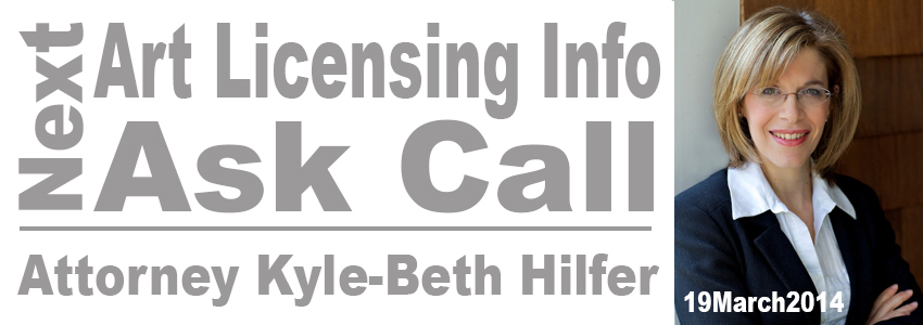 Ask Attorney Kyle-Beth Hilfer about legal issues of art licensing