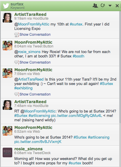 #surtex on Hootsuite